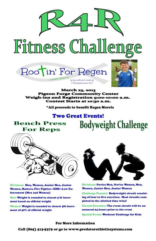 R4R Fitness Challenge